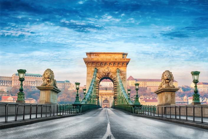Budapešť - Széchenyiho řetězový most