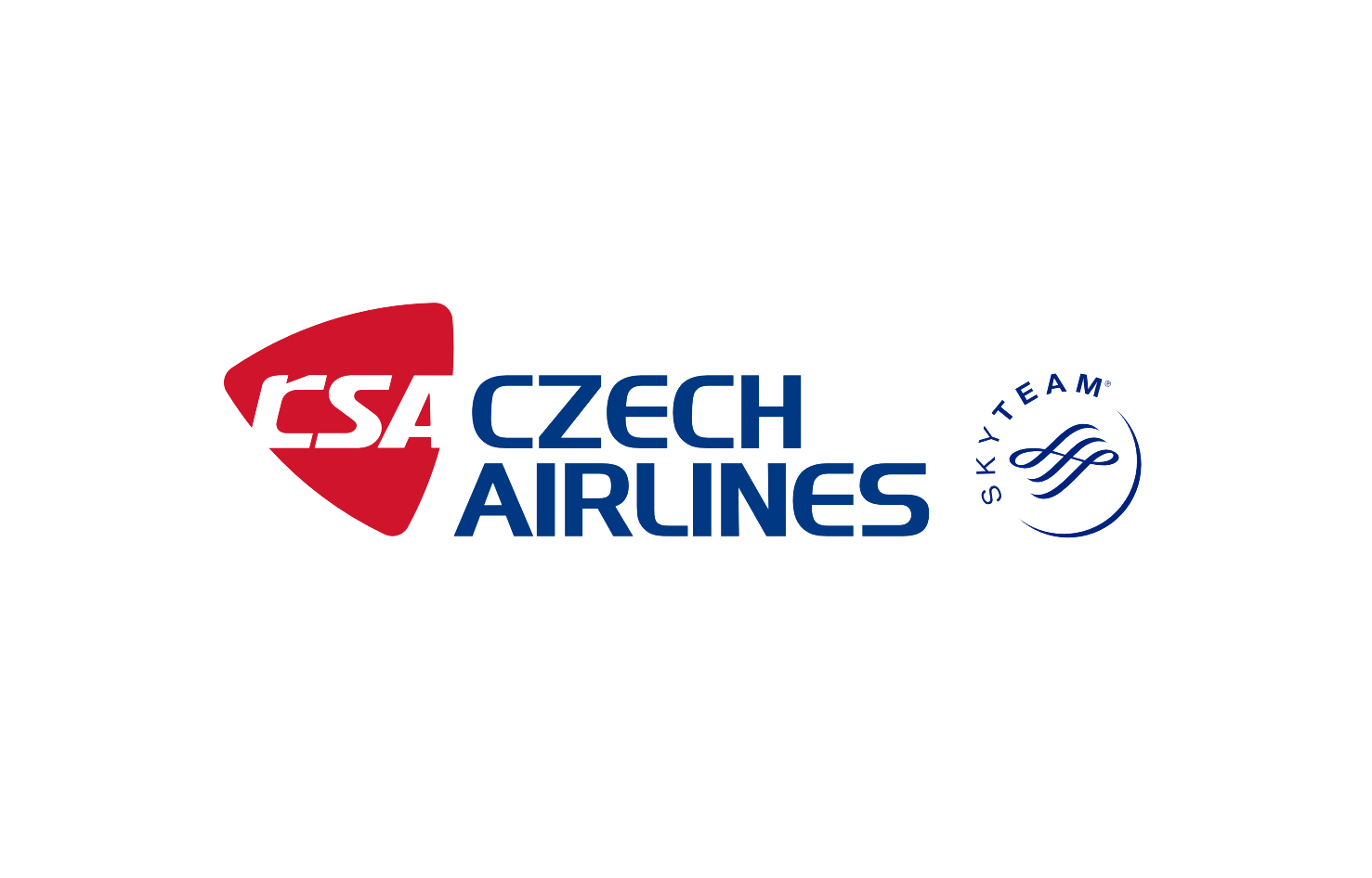 Logo-ul Czech Airlines