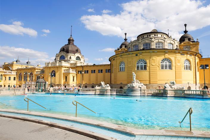 Budapešť - Széchenyiho termální lázně